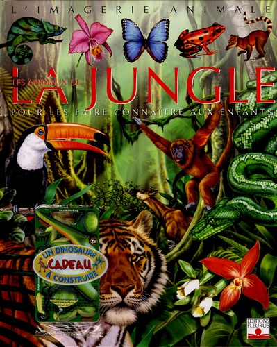 Emilie Beaumont et Raphaëlle Chauvelot - Les animaux de la jungle - Pour les faire connaître aux enfants. 1 Jeu