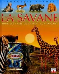 Emilie Beaumont et Sandrine Lefebvre - Les animaux de la savane - Pour les faire connaître aux enfants. 1 Jeu