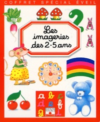 Emilie Beaumont et  Collectif - Les imageries des 2-5 ans Coffret 3 volumes : La nouvelle imagerie des enfants. - L'imagerie de l'éveil. L'imagerie pour la grande école.