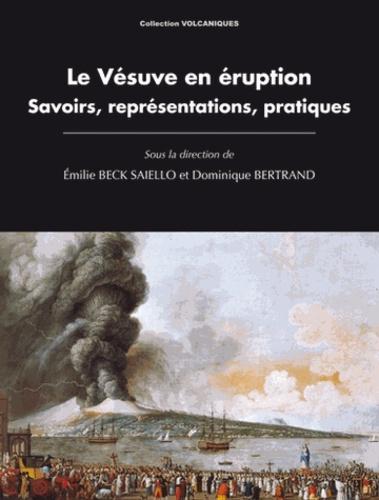 Emilie Beck Saiello et Dominique Bertrand - Le Vésuve en éruption - Savoirs, représentations, pratiques.