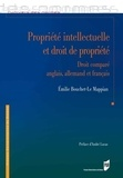 Emilie Bouchet-Le Mappian - Propriété intellectuelle et droit de propriété - Droits anglais, allemand et français.