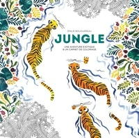 Ebook en anglais téléchargement gratuit Jungle  - Une aventure exotique & un carnet de coloriage 9782501143851 CHM iBook par Emilie Bouguereau in French