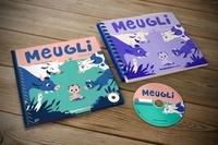 Emilie Chazerand et Félix Rousseau - Pack Meugli - Avec le livre adapté en braille et gros caractères. 1 CD audio MP3