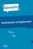 Emilie Chevalier et Olivier Dubos - Institutions européennes.