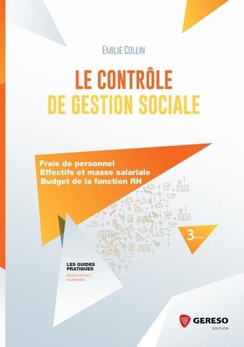 Le contrôle de gestion sociale. Frais de personnel, effectifs et masse salariale, budget de la fonction RH