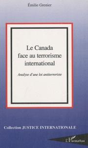 Deedr.fr Le Canada face au terrorisme international - Analyse d'une loi antiterroriste Image