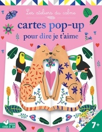 Emilie Lapeyre - Cartes pop-up pour dire je t'aime - pochette avec accessoires.