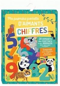 Emilie Lapeyre - Ma première pochette d'aimants Chiffres - Avec 31 aimants et 1 poster.