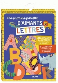 Emilie Lapeyre - Ma première pochette d'aimants Lettres.