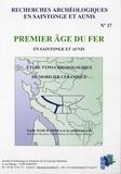 Emilie Marchadier - Premier âge du fer en Saintonge et Aunis - Etude typo-chronologique du mobilier céramique.