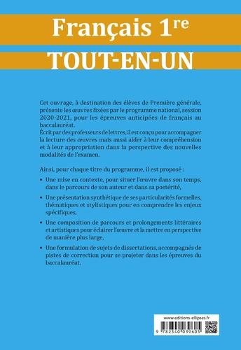 Tout-en-un sur les oeuvres au programme du BAC Français 1re  Edition 2020-2021
