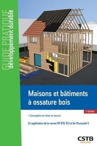 Deedr.fr Maisons et bâtiments à ossature bois - Conception et mise en oeuvre. En application du NF DTU 31.2 et de l'Eurocode 5 Image