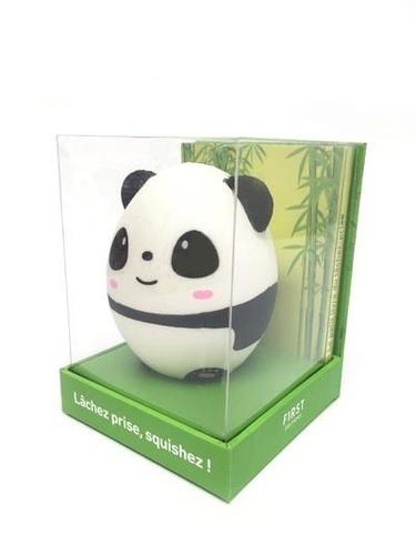 Emilie Pernet - Soyez zen, squishez ! - Coffret avec un squishy panda à malaxer.