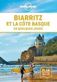 Emilie Thièse - Biarritz et la côte basque en quelques jours. 1 Plan détachable