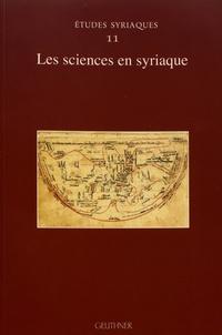 Emilie Villey - Les sciences en syriaque.
