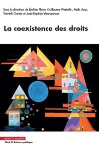Emilien Rhinn et Guillaume Wattellin - La coexistence des droits.