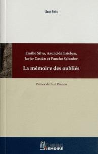 Emilio Silva et Asuncion Esteban - La mémoire des oubliés - La répression franquiste passée sous silence.