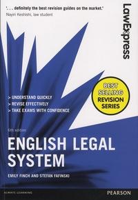 Emily Finch et Stefan Fafinski - English Legal System.