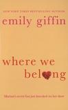 Emily Giffin - Wher We Belong.