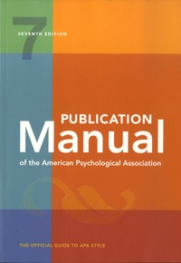 Emily L. Ayubi - Publication Manual of the American Psychological Association - The Official Guide to APA Style.