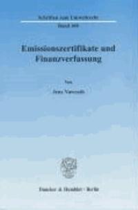 Emissionszertifikate und Finanzverfassung..