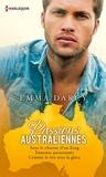 Emma Darcy - Passions australiennes - Sous le charme d'un King - Ennemis passionnés - Comme le feu sous la glace.