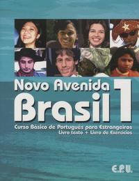 Emma Eberlein O-F Lima et Lutz Rohrmann - Novo Avenida Brasil 1 - Curso basico de português para estrangeiros. 1 CD audio