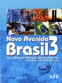 Emma Eberlein O-F Lima - Novo Avenida Brasil 3 - Curso Basico de Português para Estrangeiros. 2 CD audio