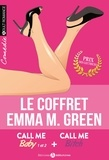 Emma Green - Coffret Emma Green - Call me Baby Tomes 1 et 2 + Call me Bitch.