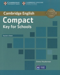 Histoiresdenlire.be Cambridge English Compact Key for Schools - Teacher's Book Image