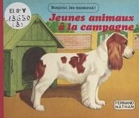 Emma Lafon et Jean-Marc Pariselle - Jeunes animaux à la campagne.