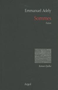 Emmanuel Adely - Sommes.
