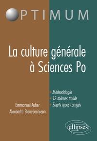 La culture générale à Sciences Po.pdf