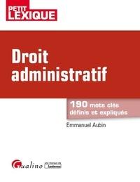 Emmanuel Aubin - Droit administratif.