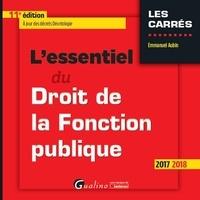 Lessentiel du droit de la fonction publique.pdf