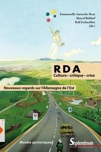 RDA : culture - critique, - crise - Nouveaux regards sur lAllemagne de lEst.pdf