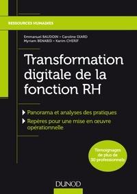Emmanuel Baudoin et Myriam Benabid - Transformation Digitale de la fonction RH.
