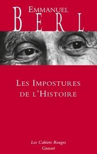 Emmanuel Berl - Les impostures de l'histoire.