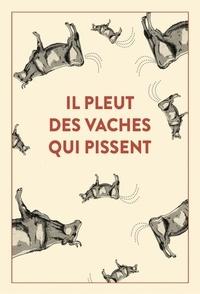 Emmanuel Blervaque et Stéphane Ellias - Il pleut des vaches qui pissent - 300 accidents d'expressions : une seule victime, la langue française....
