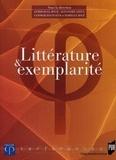 Emmanuel Bouju et Alexandre Gefen - Littérature et exemplarité.