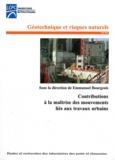 Emmanuel Bourgeois - Contribution à la maîtrise des mouvements liés aux travaux urbains.