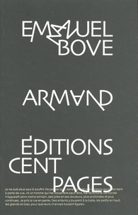 Emmanuel Bove - Armand.