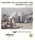 Emmanuel Bréon - L'exposition des arts décoratifs 1925 - Naissance d'un style. 1 DVD