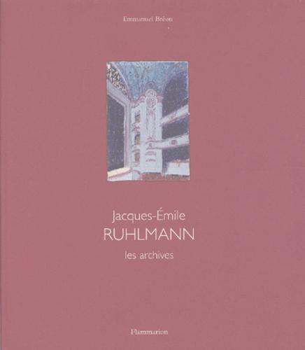 Emmanuel Bréon - Les archives : Mobilier ; Architecture d'intérieur.