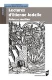 Emmanuel Buron et Olivier Halévy - Lectures d'Etienne Jodelle - Didon se sacrifiant.