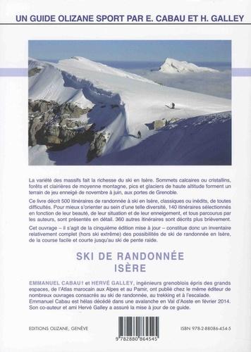 Ski de randonnée Isère. Chartreuse, Vercors, Dévoluy, Beaumont, Taillefer, Belledonne, Grandes Rousses, Ecrins
