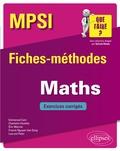 Emmanuel Cam et Charlotte Dezélée - Mathématiques MPSI - Fiches-méthodes et exercices corrigés.