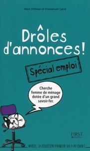 Emmanuel Carré et Marc Hillman - Drôles d'annonces - spécial emploi.