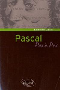 Pascal - Emmanuel Carsin  