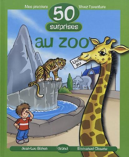 Emmanuel Chaunu et Jean-Luc Bizien - 50 surprises au zoo.